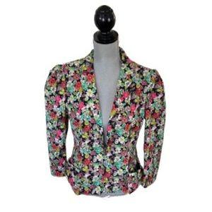 Nanette Lepore Floral Blazer